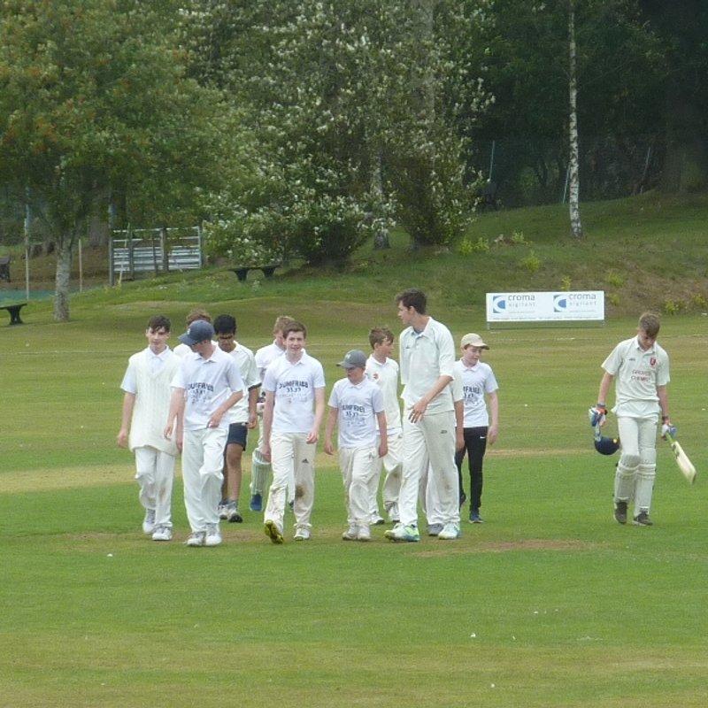 Wigton CC - Under 15 vs. Dumfries CC - Under 15