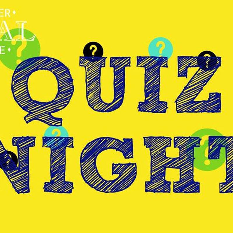 Quiz Night - Sat evening, 27 Oct