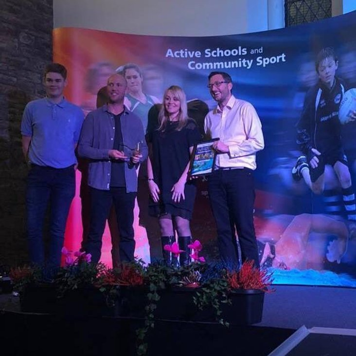 Dumfries CC  wins Club of the Year<