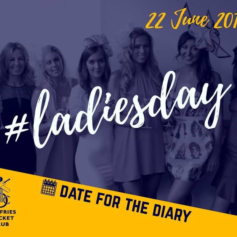 Ladies Day is coming - Sat 22 June