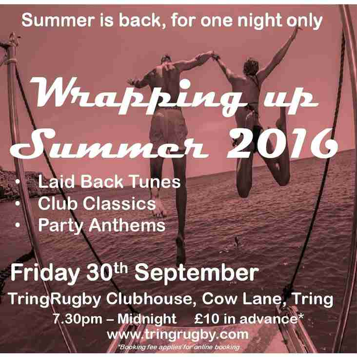 Party - Wrapping Up Summer