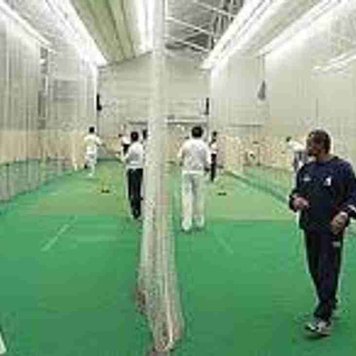 Junior Indoor Nets booked