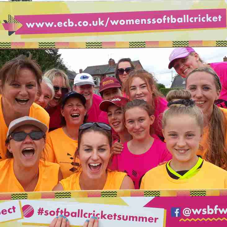 Women and Girls Hard Ball Taster Session looming