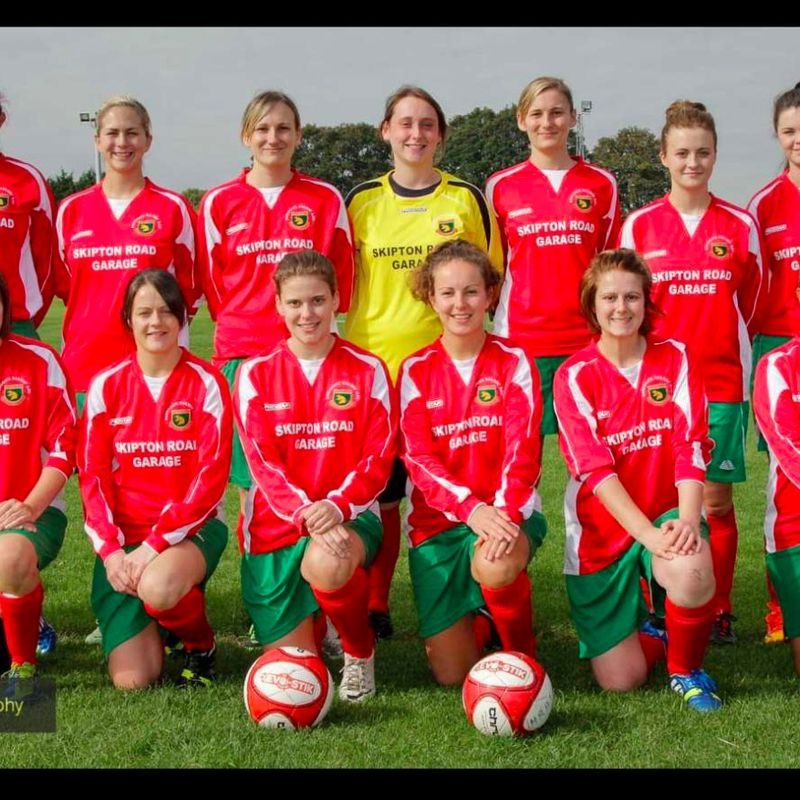 Harrogate Railway Ladies lose to Farsley Celtic 0 - 4