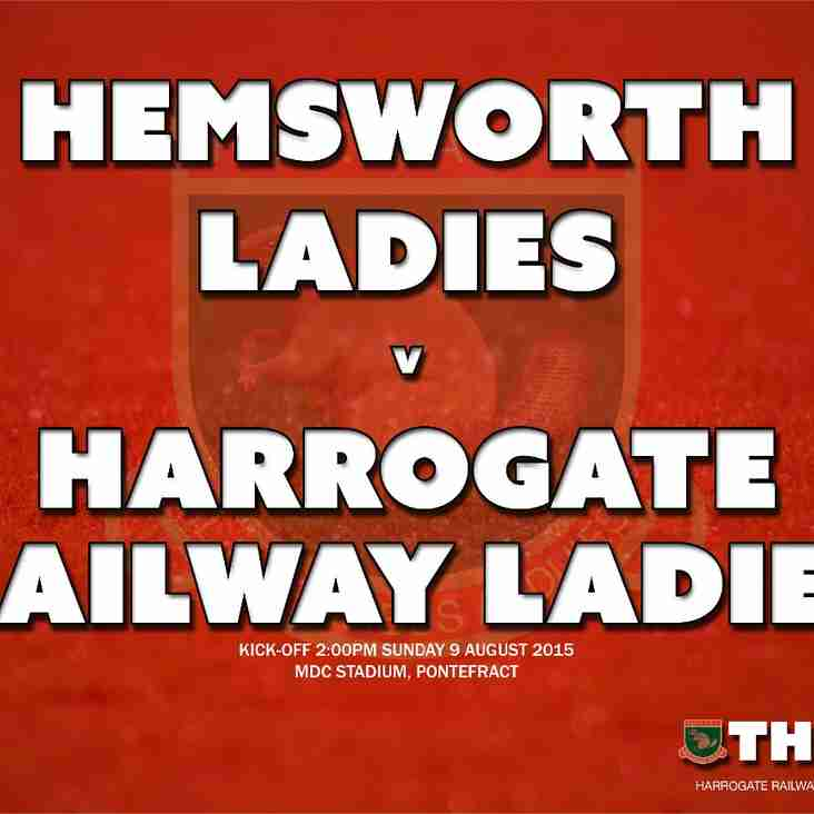 Pre-season friendly: Hemsworth Ladies v Harrogate Railway Ladies