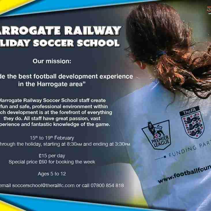 February Soccer School Now Taking Bookings