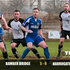 Bamber Bridge 5-0 Harrogate Railway
