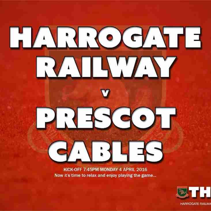Next Match: Harrogate Railway v Prescot Cables