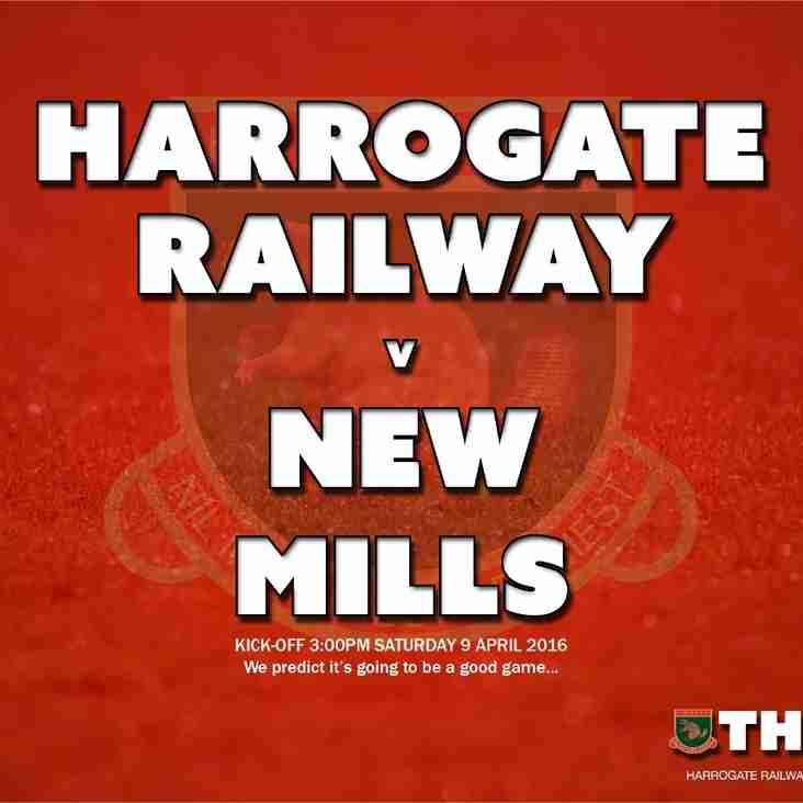 Next Match: Harrogate Railway v New Mills
