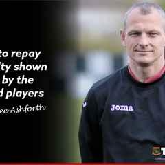 Club Statement: Lee Ashforth