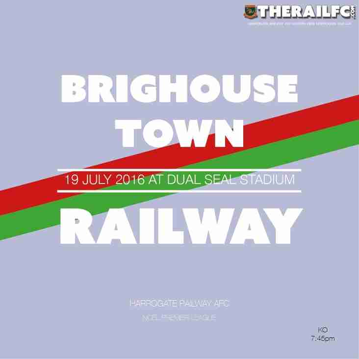 Next Fixture: Away to Brighouse Town