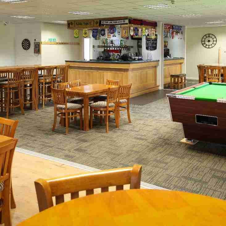 Harrogate & District Railway Athletic Sports & Social Club Clubhouse Anniversary Night