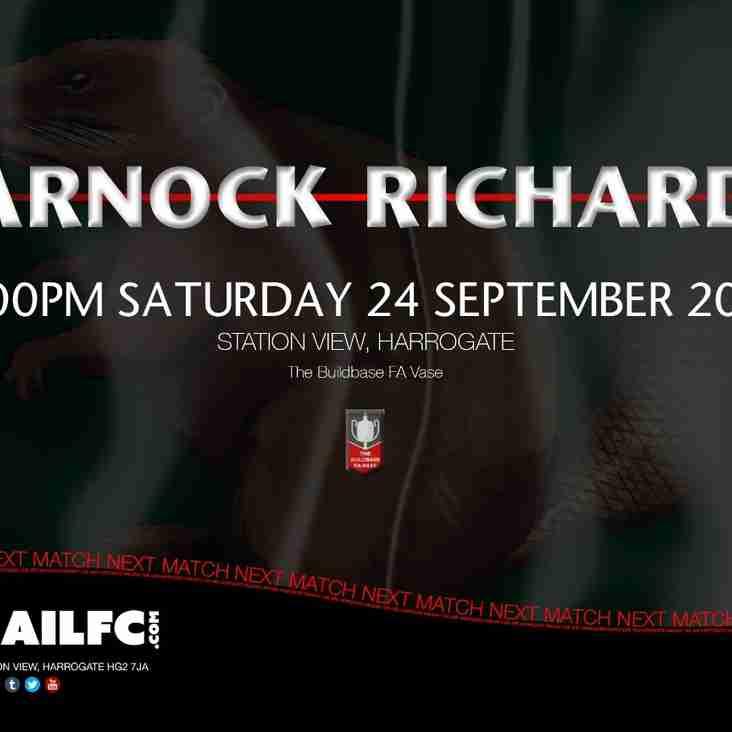 Next Match: Harrogate Railway v Charnock Richard