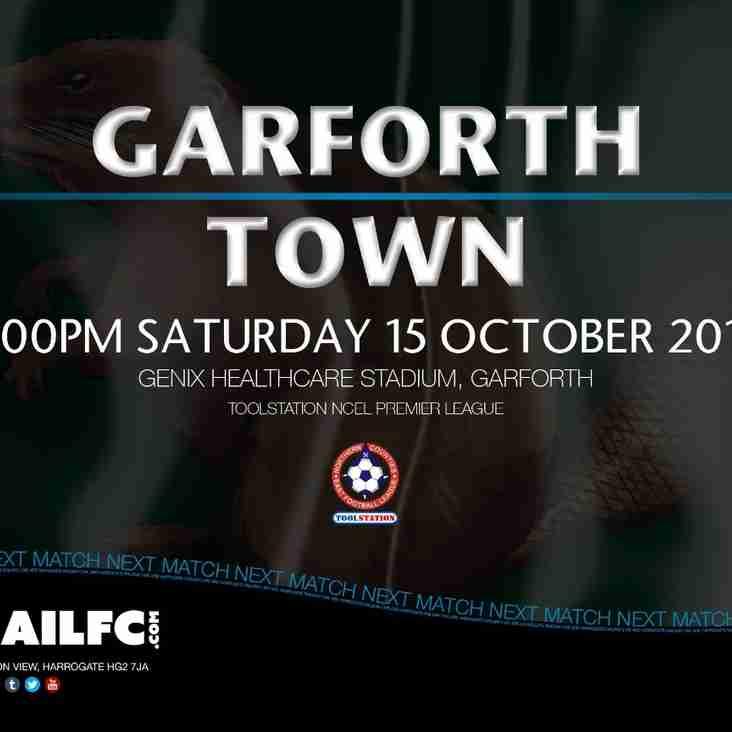 Next Match: Garforth Town v Harrogate Railway