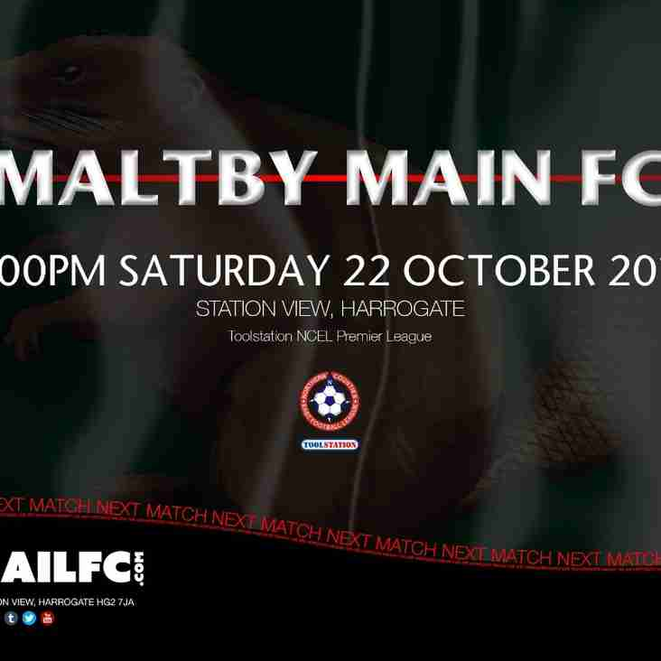 Next Match: Harrogate Railway v Maltby Main