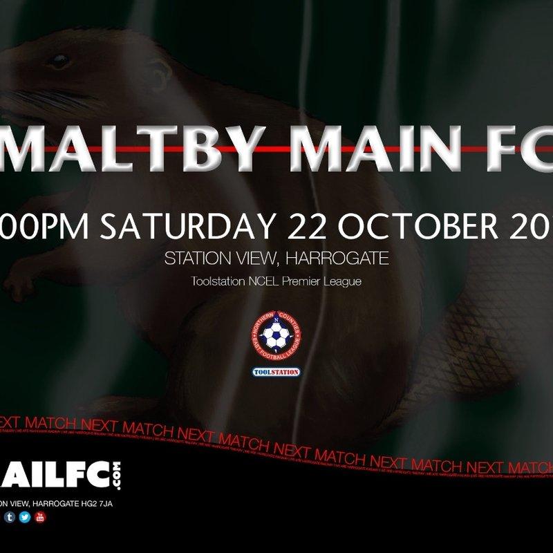 Next Match: Harrogate Railway v Maltby Main