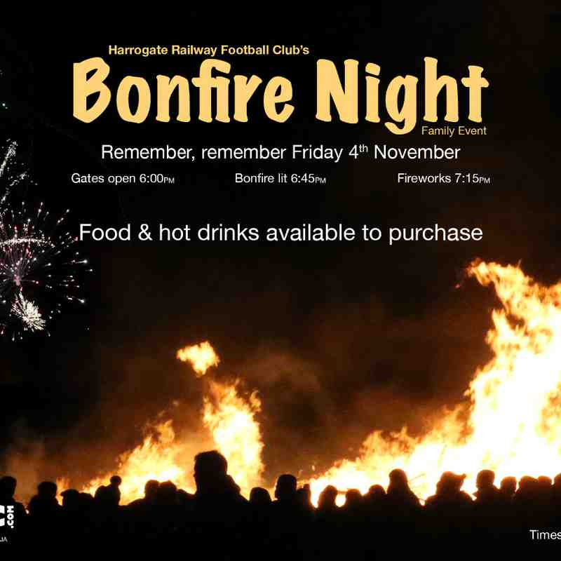 Bonfire Night 2016
