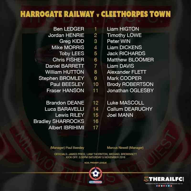 Harrogate Railway 0-4 Cleethorpes Town