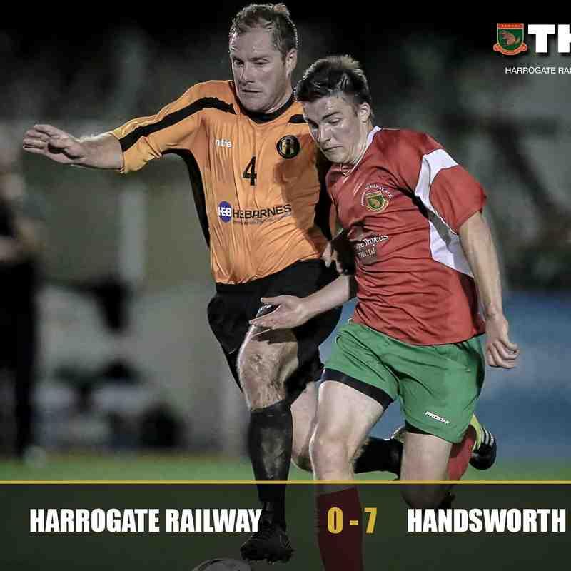 Harrogate Railway v Handsworth Parramore
