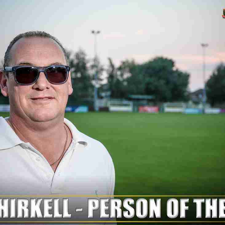 September Club Person of the Month