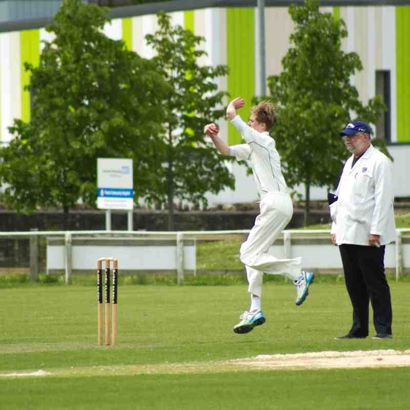 Dan Weston bagged a brace of wickets with his leg-spin (Credit: Shaun Weston)