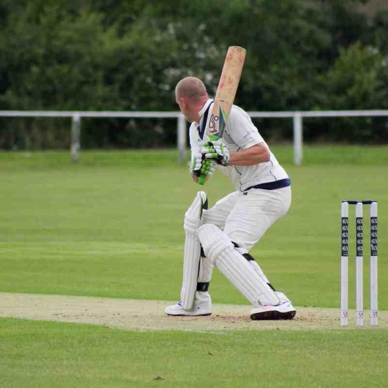 Mark Dredge bats for Frome (Credit: Dan Weston)