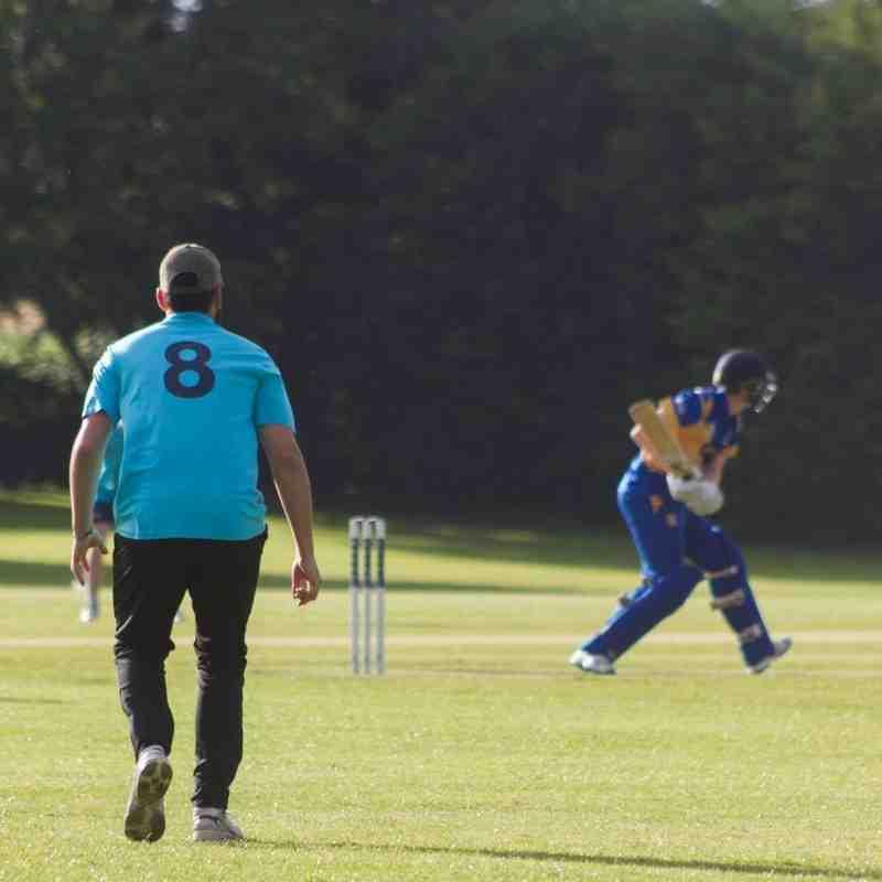 Croker bats for his 41 ball 51 (Credit: Dan Weston)