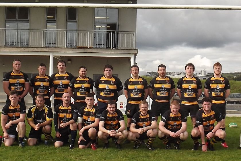 2nd XV beat Ballyshannon RFC 20 - 19