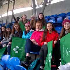 Letterkenny U15 Girls at Donnybrook 6th February 2016