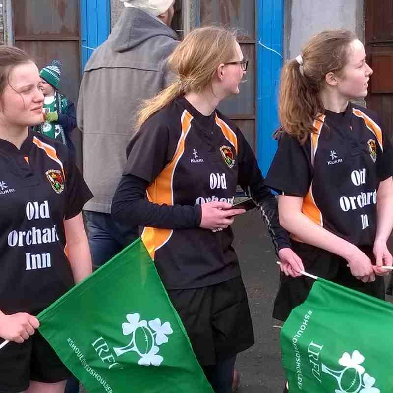Letterkenny u15 Girls Welcome Ireland and Wales Ladies