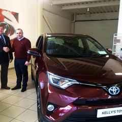Kellys Toyota - Main Club Sponsor