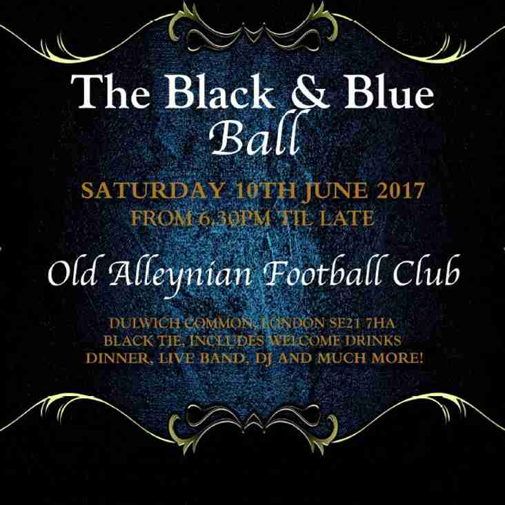 The Old Alleynian Black and Blue Ball 2017