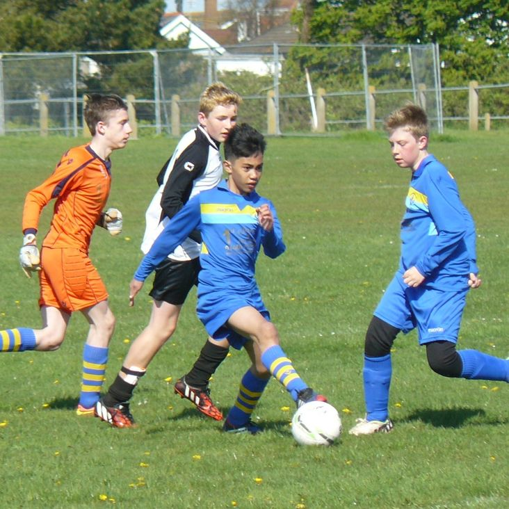 Under 13 finish season at Maslin<
