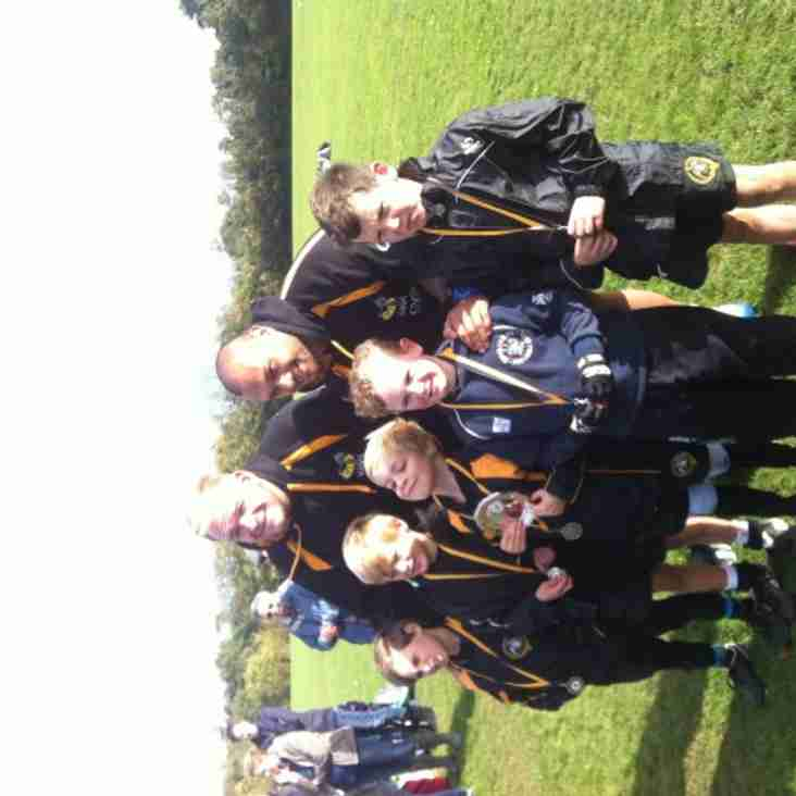 Winners at Wasps Tournament Oct 27th