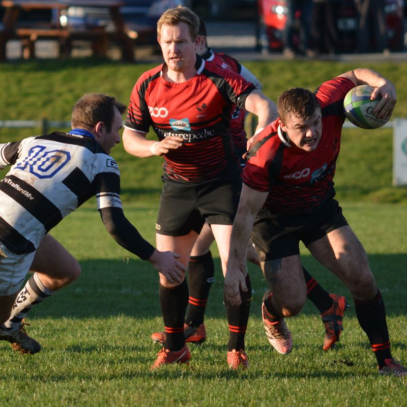 TRAFFORD TRIUMPH FOR BLACKREDS