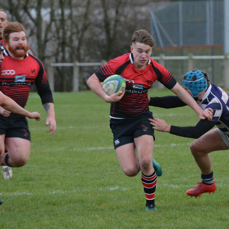ECCLES SUFFER BLACK RED ONSLAUGHT