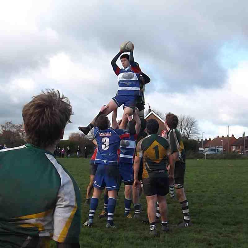 U16s v Trentham League