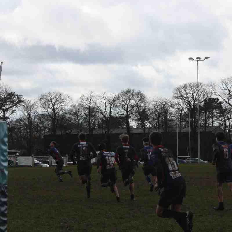 U16s v Stoke County Cup Semi Final
