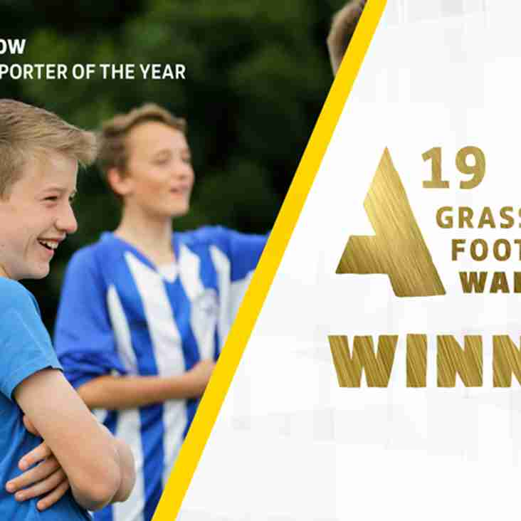 FA Grassroots National Supporter Of The Year  - Thatcham Town Harrier Thomas Woodrow