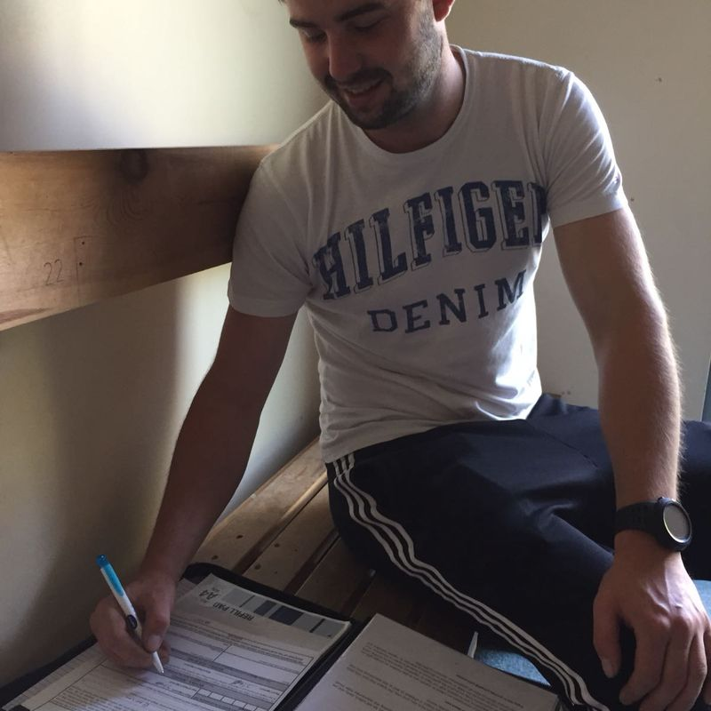 Johnny Roberts signs for Gaerwen