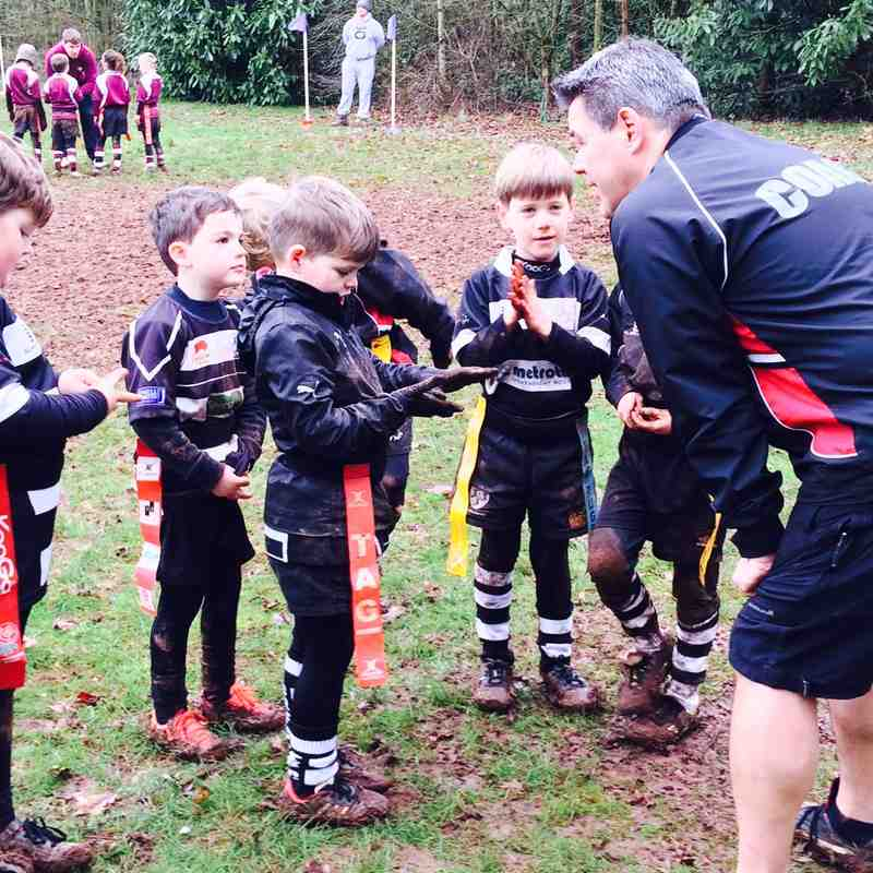 Cleve vs Chippenham U7s 24/01/16