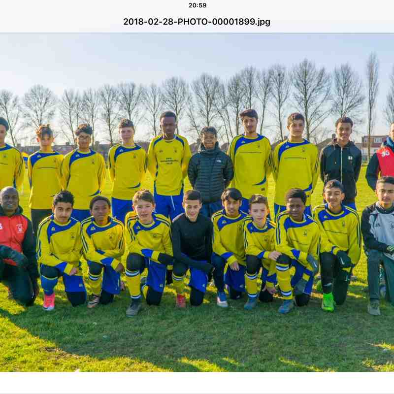 Forest United U14's