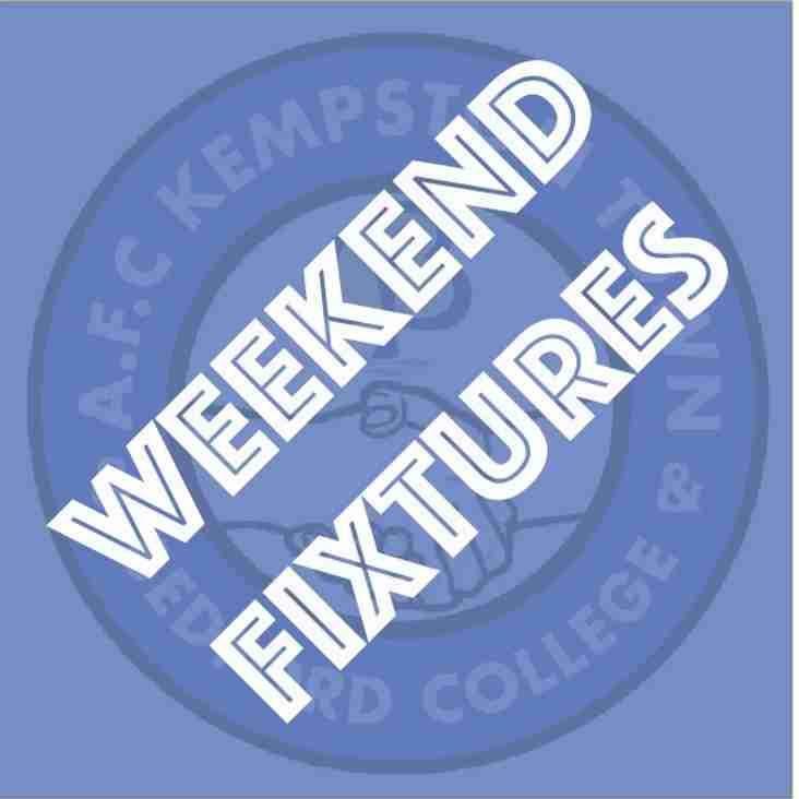 Weekend Fixtures