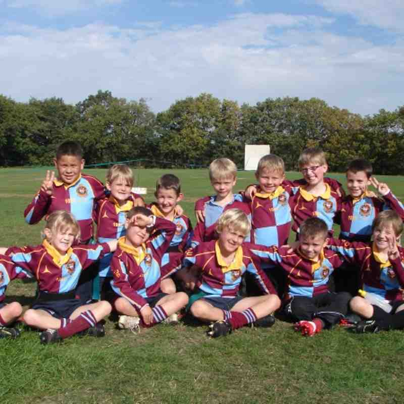 U8's v Old Ed's 2nd Oct 2011