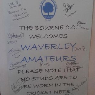 Waverley Amateurs in Bourne Supremacy