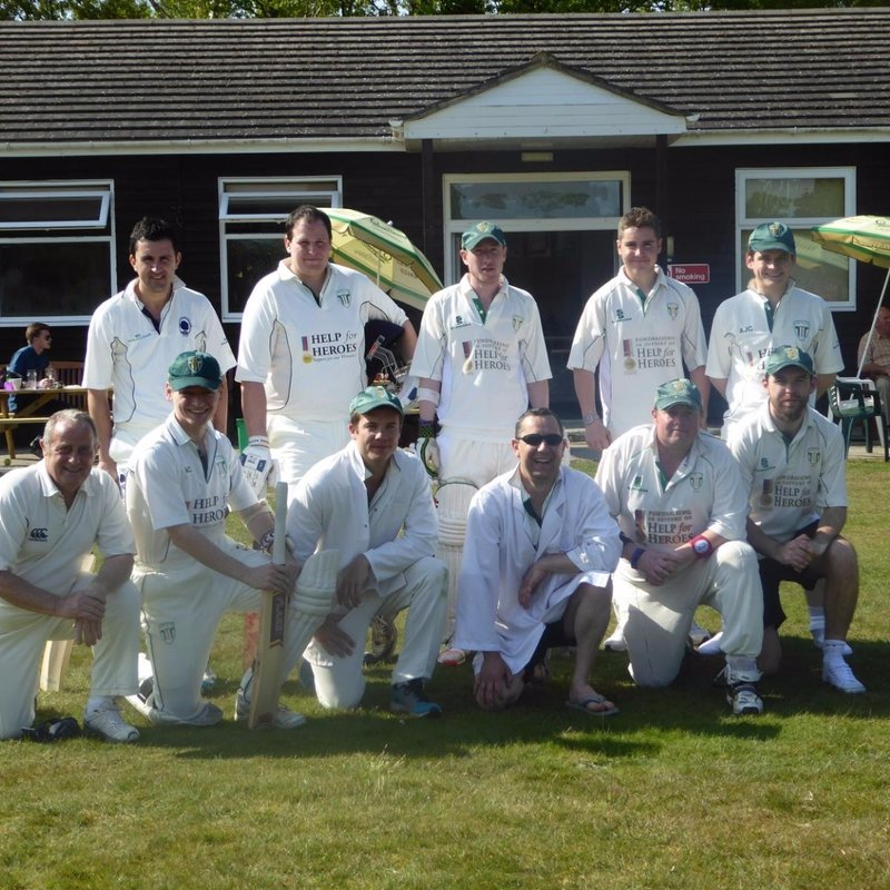 Hambledon (Surrey) Cricket Club 248/7 - 249/8 Waverley Cricket Club