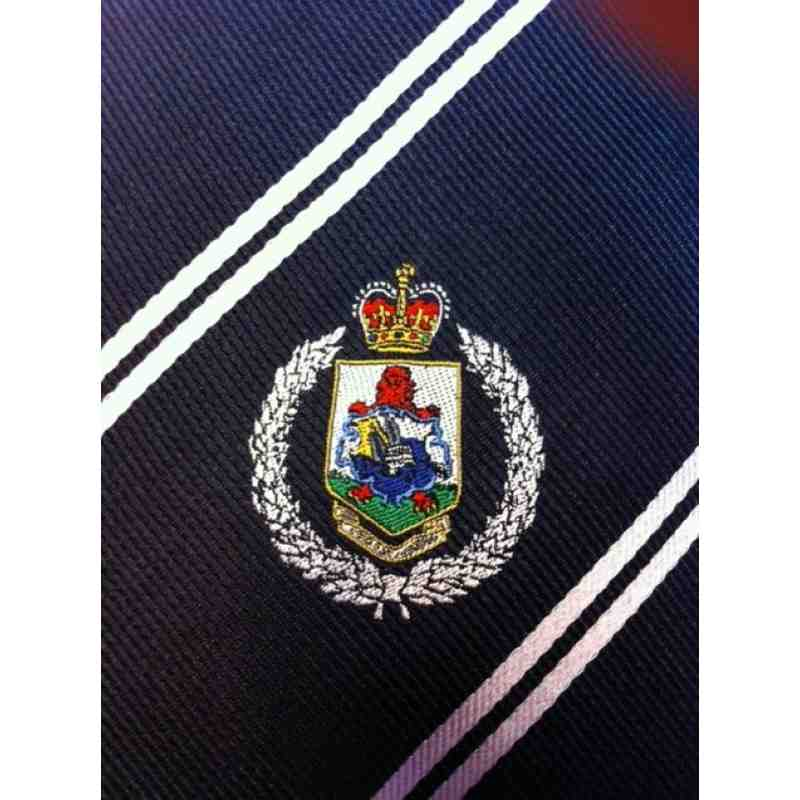 Bermuda Police Rugby Club Tie - New Design