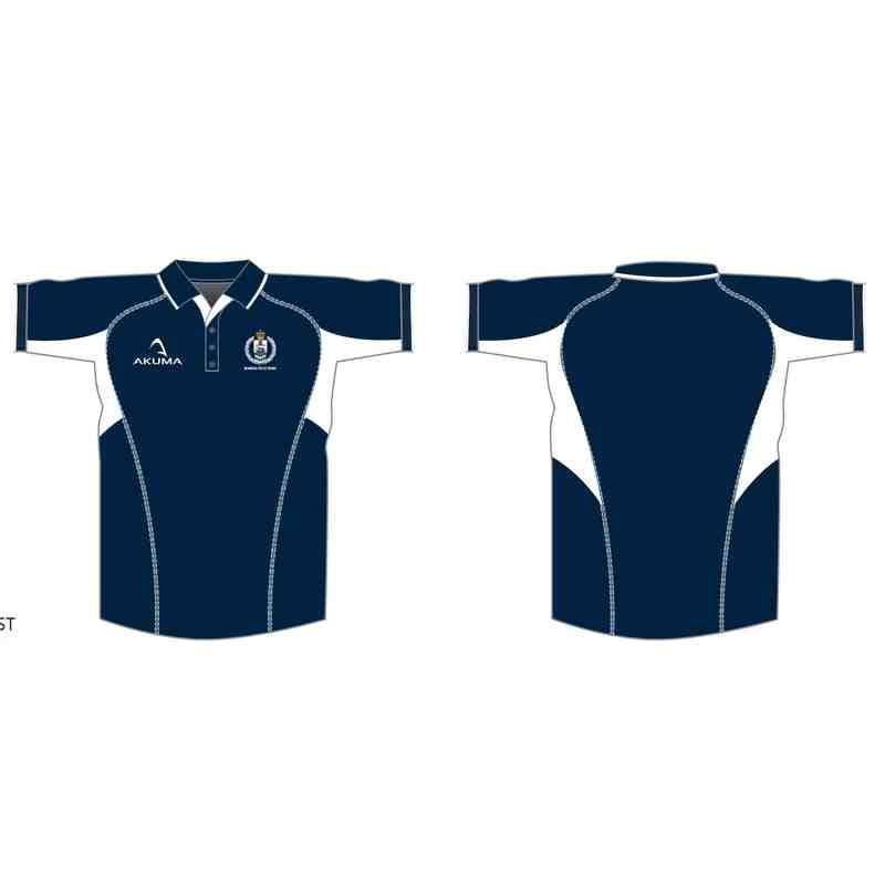 Akuma 'Kirin' Police Rugby Dri Fit Polo Shirt