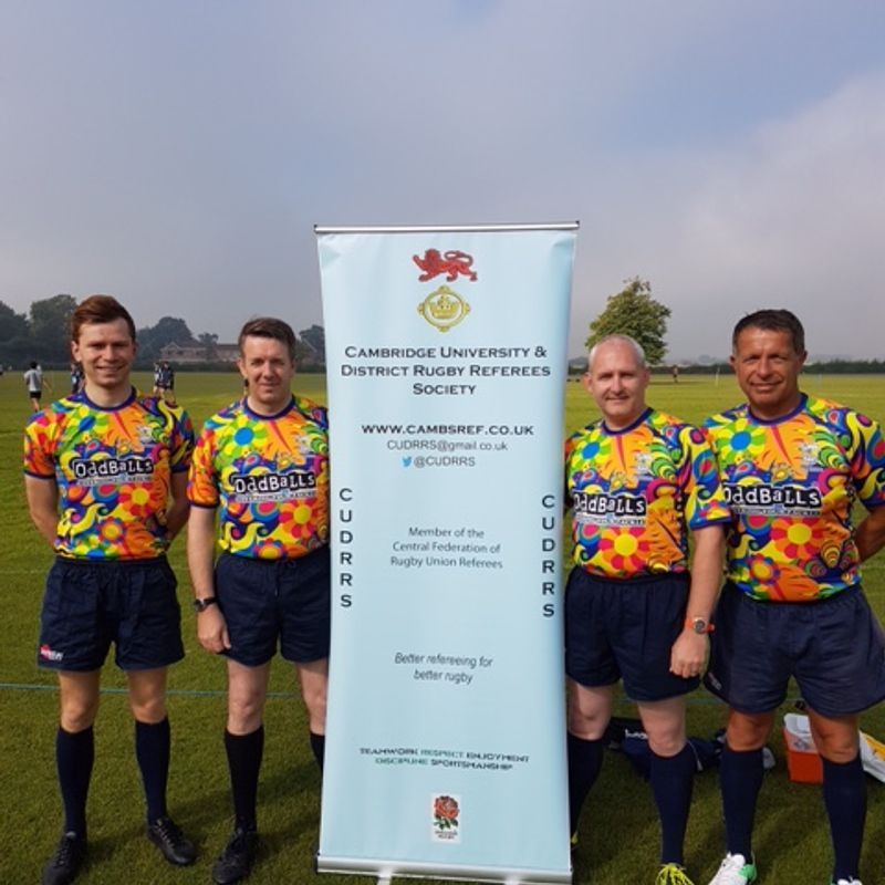 CUDRRS tournament shirts in action at Wisbech