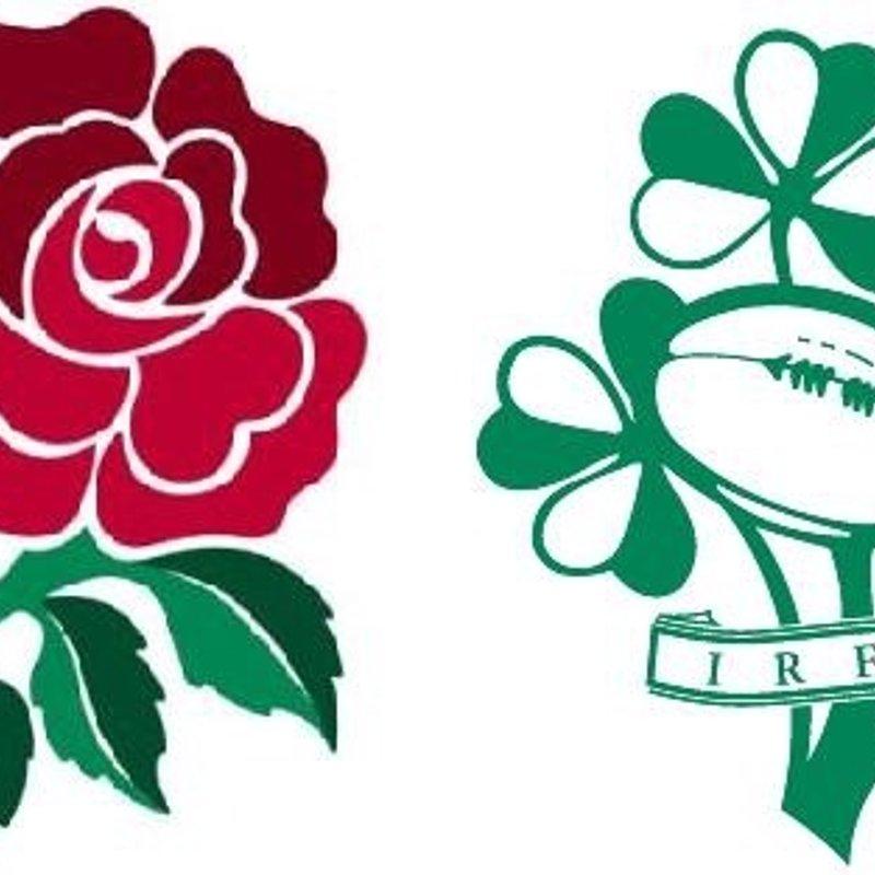 England vs Ireland live at the club